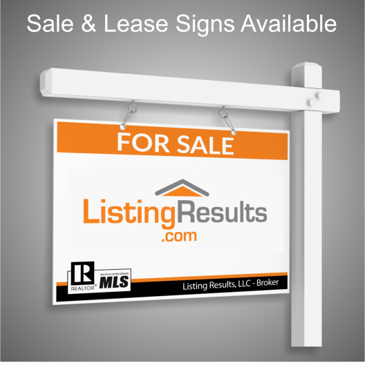 Sale or Lease Signs