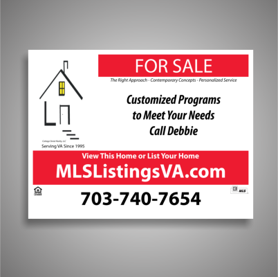Flat Fee MLS Listing and For Sale By Owner Home Selling Sign